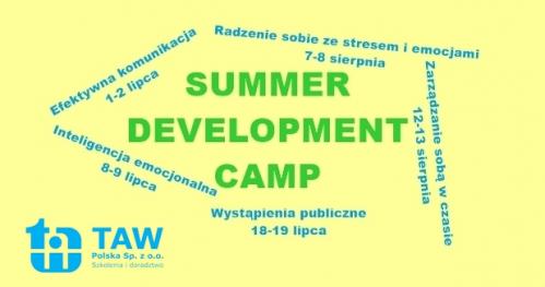 SUMMER DEVELOPMENT CAMP - Wystąpienia publiczne - WROCŁAW 18-19.07.2019
