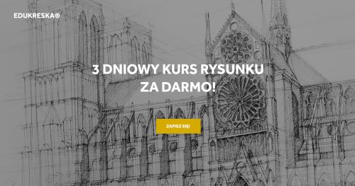Darmowy kurs rysunku w Gdańsku dla 17-18 latków