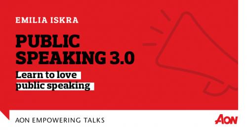 Public Speaking 3.0: Learn to love public speaking