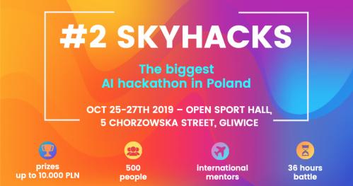 #2 skyhacks ▮ Artificial Intelligence Hackathon for Leaders