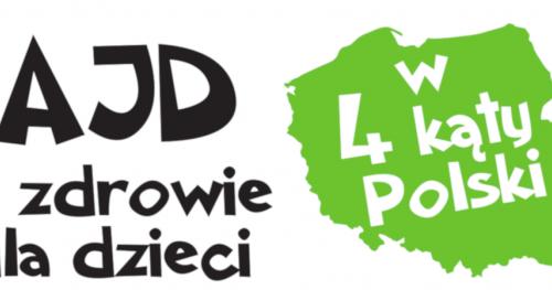 """Rajd """"4 kąty Polski"""" po zdrowie dla dzieci"""