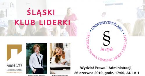 Śląski Klub Liderki 26.06.2019