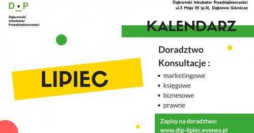 Darmowe Konsultacje Lipiec- Dąbrowski Inkubator Przedsiębiorczości