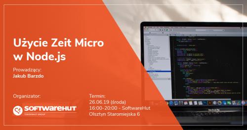 Użycie Zeit Micro w Node.js