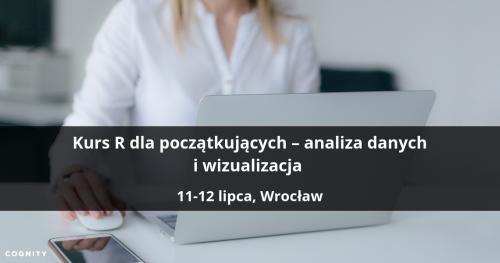 Kurs R dla początkujących - analiza danych i wizualizacja - Wrocław