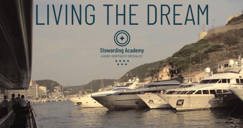 """Living the dream"" pracuj na jachtach luksusowych"