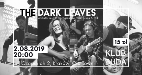 The Dark Leaves live @Klub Buda
