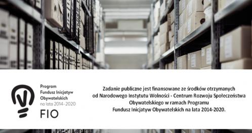 Kurs kancelaryjno-archiwalny dla przedstawicieli pomorskich organizacji pozarządowych - 2 edycja