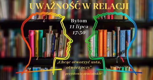 Uważność w relacji - warsztaty w Bytomiu