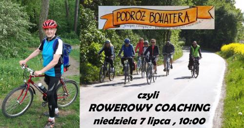 Coaching na rowerach - PODRÓŻ BOHATERA w pięknych okolicach Warszawy