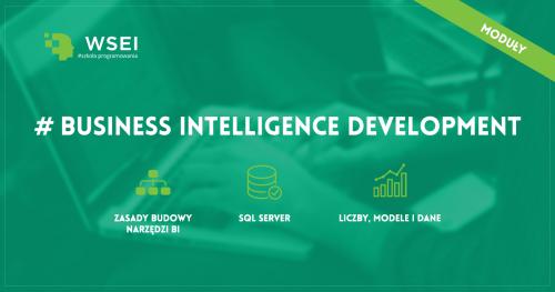 Business Intelligence Development SQL  - kurs wieczorowy LIPIEC - PAŹDZIERNIK 2019