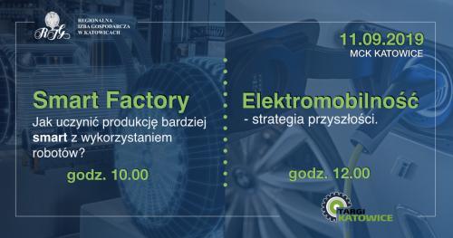 Konferencje: Smart Factory || Elektromobilność