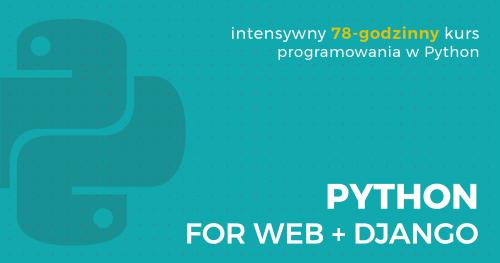 kurs Python for Web z Django | Gdańsk