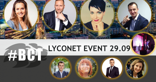 #BCTLyconet MEGA event 29.09.2019