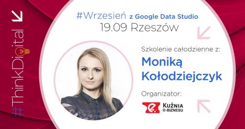 #ThinkDigital - Szkolenie Google Data Studio - Rzeszów