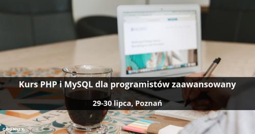 Kurs PHP i MySQL dla programistów zaawansowany - Poznań