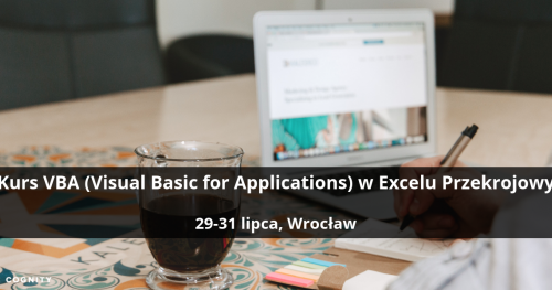 Kurs VBA (Visual Basic for Applications) w Excelu Przekrojowy - Wrocław