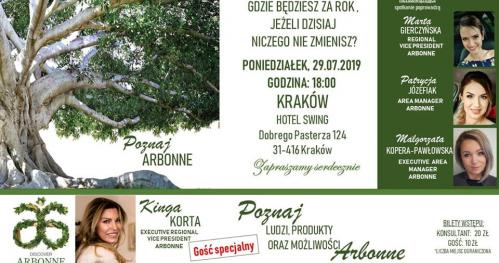 Discover Arbonne Kraków 29.07.19