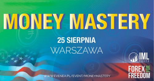 MONEY MASTERY - Zmień swoje przekonania o finansach / po raz pierwszy w Polsce