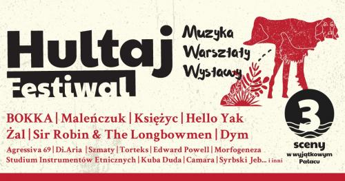 HULTAJ Festiwal - akredytacje dla mediów