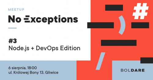 No Exceptions #3 | Node.js i DevOps edition