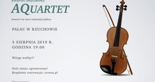 AQuartet - koncert kwartetu smyczkowego