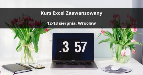 Kurs Excel Zaawansowany - Wrocław