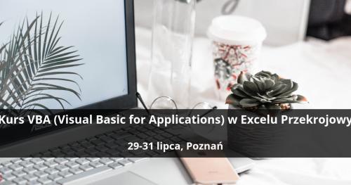 Kurs VBA (Visual Basic for Applications) w Excelu Przekrojowy - Poznań