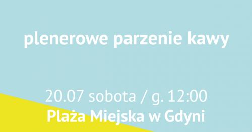 #warsztatykawowe na plaży: plenerowe parzenie kawy / Plaża Miejska w Gdyni
