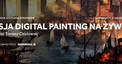 Sztuka czy rzemiosło? Digital painting na rynku pracy.