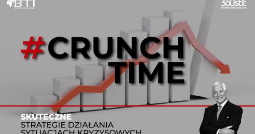 CRUNCH TIME - SKUTECZNE STRATEGIE DZIAŁANIA W SYTUACJACH KRYZYSOWYCH - NAGRANIE SEMINARIUM BRIANA TRACY