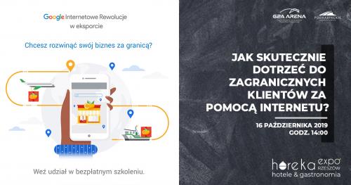 Jak skutecznie dotrzeć do zagranicznych klientów za pomocą Internetu? - SZKOLENIE DLA BRANŻY