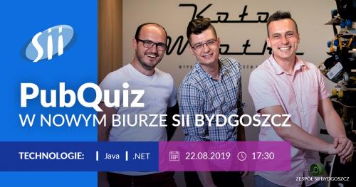 PubQuiz w biurze Sii Bydgoszcz - Java & .NET