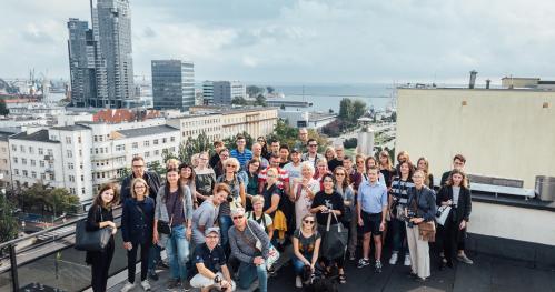 IX Weekend Architektury w Gdyni//Spacer architektoniczny z prelekcją // SEN o NIEBOTYKACH//Archi Spacer 1