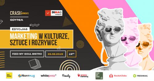 CRASH Mondays № 6: Kultura, sztuka i rozrywka [Gdynia]