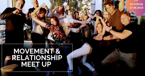 CX na kolację!  MOVEMENT & RELATIONSHIP MEET UP.  Ruch i relacje nad Wisłą!