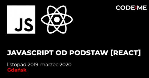 CODE:ME || JavaScript + React od podstaw  (listopad 2019 - marzec 2020)