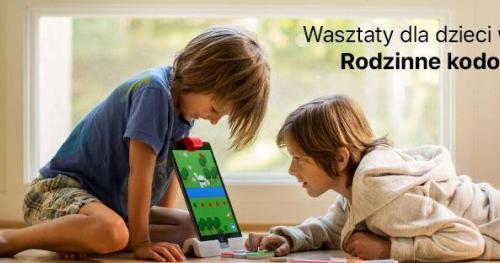 Warsztaty dla dzieci w iSpot Plac Unii - Zostań mistrzem kodowania!