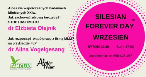 Silesian Forever Day  wrzesień z dr E. Olejnik