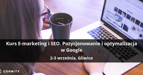 Kurs E-marketing i SEO. Pozycjonowanie i optymalizacja w Google - Gliwice