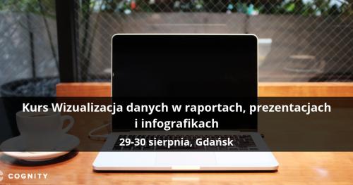 Kurs Wizualizacja danych w raportach, prezentacjach i infografikach - Gdańsk