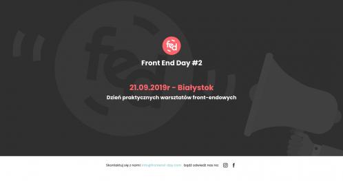 Front End Day Białystok #2