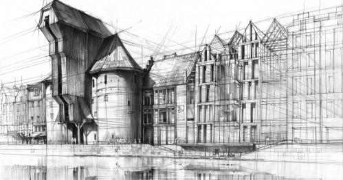 Kurs rysunku Architektura