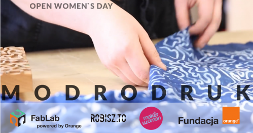 Open Women`s Day: Modrodruk