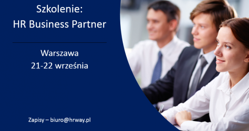 HR Business Partner  Warszawa