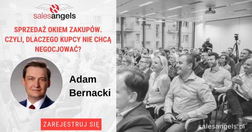 """Warszawa: """"Sprzedaż okiem zakupów. Czyli dlaczego kupcy nie chcą negocjować?"""""""