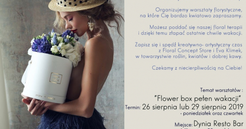 Flower box pełen wakacji