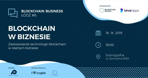 Blockchain Business Łódź #6