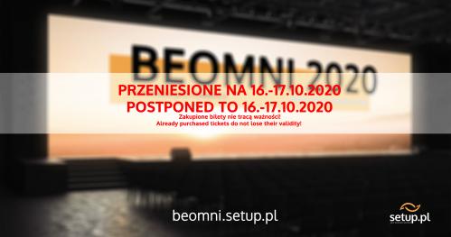 BEOMNI 2021 - Konferencja E-Commerce we Wrocławiu  | Marzec 2021 | PRZENIESIONA