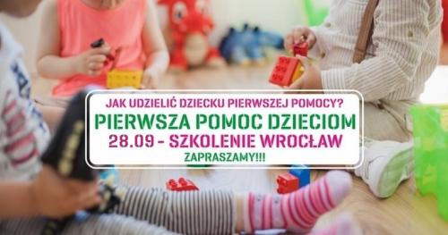 """Warsztaty """"Pierwsza Pomoc Dzieciom"""" - 28.09.2019"""